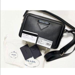 PRADA Concept calfskin leather bag